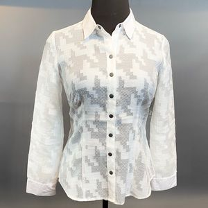 ZoZo White Button Down Shirt